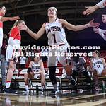 NCAA WOMENS BASKETBALL:  MAR 20 2019 Women's Basketball Invitational - Marshall at Davidson