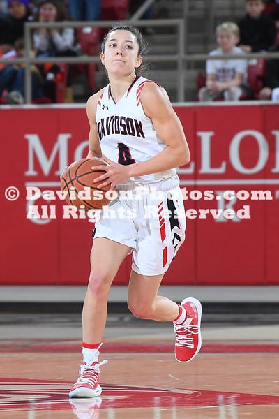 NCAA WOMENS BASKETBALL:  DEC 18 Presbyterian at Davidson