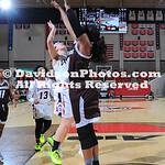 NCAA WOMENS BASKETBALL:  MAR 05 2019 A10 Women's Basketball Championship - Saint Bonaventure at Davidson
