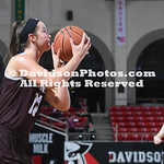 NCAA WOMENS BASKETBALL:  MAR 05 2019 A10 Women's Basketball Championship - Saint Bonaventure at Davidson