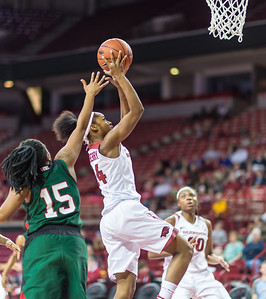Arkansas Lady Razorbacks guard Jordan Danberry (24) shoots during a basketball game between Arkansas and Mississippi Valley State on December 28, 2015.    (Alan Jamison, Nate Allen Sports Service)