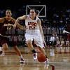 WBKvASU_012911_Kondrath_1370 - photo by Kristina Kondrath<br /> USC 61, Oregon 62