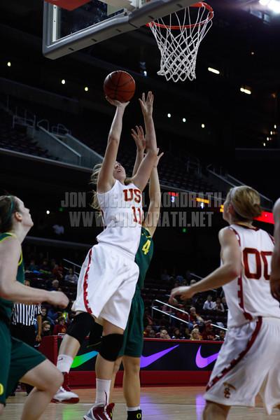 USCvOregon_011311_Kondrath_0475 - photo by Kristina Kondrath<br /> USC 79, Oregon 76