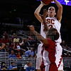 Pac-10 Tournament Round 1 - Cassie Harberts leads USC with 31 points to a victory over WSU (78-66)<br /> WBKvWSU_Pac10T_030911_Kondrath_1328