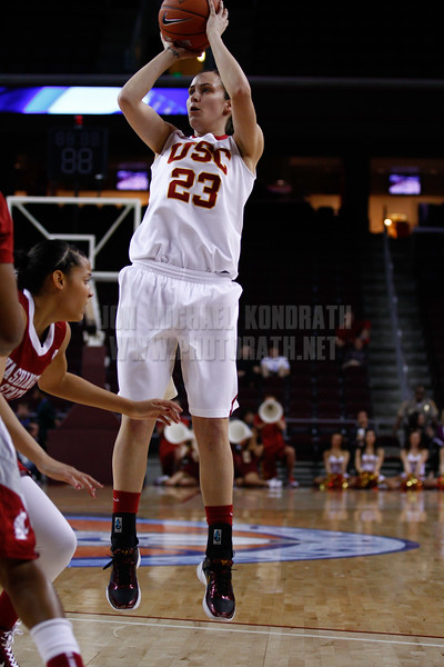 Pac-10 Tournament Round 1 - Cassie Harberts leads USC with 31 points to a victory over WSU (78-66)<br /> WBKvWSU_Pac10T_030911_Kondrath_0136