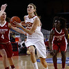 Pac-10 Tournament Round 1 - Cassie Harberts leads USC with 31 points to a victory over WSU (78-66)<br /> WBKvWSU_Pac10T_030911_Kondrath_0195