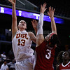 Pac-10 Tournament Round 1 - Cassie Harberts leads USC with 31 points to a victory over WSU (78-66)<br /> WBKvWSU_Pac10T_030911_Kondrath_0177