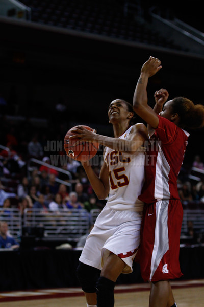 Pac-10 Tournament Round 1 - Cassie Harberts leads USC with 31 points to a victory over WSU (78-66)<br /> WBKvWSU_Pac10T_030911_Kondrath_0936