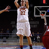 Pac-10 Tournament Round 1 - Cassie Harberts leads USC with 31 points to a victory over WSU (78-66)<br /> WBKvWSU_Pac10T_030911_Kondrath_0869