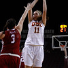 Pac-10 Tournament Round 1 - Cassie Harberts leads USC with 31 points to a victory over WSU (78-66)<br /> WBKvWSU_Pac10T_030911_Kondrath_0628
