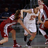 Pac-10 Tournament Round 1 - Cassie Harberts leads USC with 31 points to a victory over WSU (78-66)<br /> WBKvWSU_Pac10T_030911_Kondrath_0797