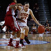Pac-10 Tournament Round 1 - Cassie Harberts leads USC with 31 points to a victory over WSU (78-66)<br /> WBKvWSU_Pac10T_030911_Kondrath_0386