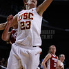 Pac-10 Tournament Round 1 - Cassie Harberts leads USC with 31 points to a victory over WSU (78-66)<br /> WBKvWSU_Pac10T_030911_Kondrath_0889