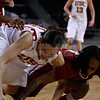 Pac-10 Tournament Round 1 - Cassie Harberts leads USC with 31 points to a victory over WSU (78-66)<br /> WBKvWSU_Pac10T_030911_Kondrath_0758