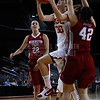 Pac-10 Tournament Round 1 - Cassie Harberts leads USC with 31 points to a victory over WSU (78-66)<br /> WBKvWSU_Pac10T_030911_Kondrath_0712