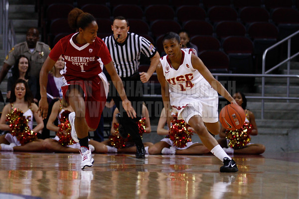 Pac-10 Tournament Round 1 - Cassie Harberts leads USC with 31 points to a victory over WSU (78-66)<br /> WBKvWSU_Pac10T_030911_Kondrath_0130