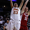 Pac-10 Tournament Round 1 - Cassie Harberts leads USC with 31 points to a victory over WSU (78-66)<br /> WBKvWSU_Pac10T_030911_Kondrath_0524