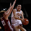 Pac-10 Tournament Round 1 - Cassie Harberts leads USC with 31 points to a victory over WSU (78-66)<br /> WBKvWSU_Pac10T_030911_Kondrath_0995