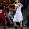 Pac-10 Tournament Round 1 - Cassie Harberts leads USC with 31 points to a victory over WSU (78-66)<br /> WBKvWSU_Pac10T_030911_Kondrath_0098