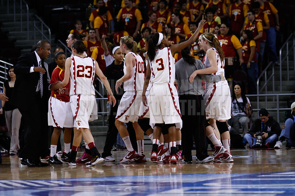 Pac-10 Tournament Round 1 - Cassie Harberts leads USC with 31 points to a victory over WSU (78-66)<br /> WBKvWSU_Pac10T_030911_Kondrath_0450