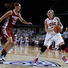 Pac-10 Tournament Round 1 - Cassie Harberts leads USC with 31 points to a victory over WSU (78-66)<br /> WBKvWSU_Pac10T_030911_Kondrath_0982