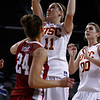 Pac-10 Tournament Round 1 - Cassie Harberts leads USC with 31 points to a victory over WSU (78-66)<br /> WBKvWSU_Pac10T_030911_Kondrath_0826