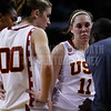 Pac-10 Tournament Round 1 - Cassie Harberts leads USC with 31 points to a victory over WSU (78-66)<br /> WBKvWSU_Pac10T_030911_Kondrath_1306