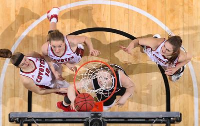 University of South Dakota vs Omaha Summit League Basketball Championship