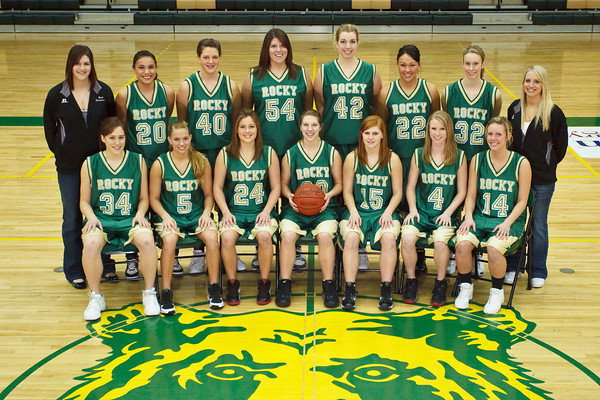 Women's Basketball, Varsity Team Photo '09-'10
