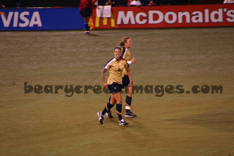 Natasha Kai (after scoring)