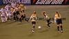 US free kick at Mexico's 18