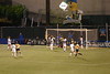 The controversial first US goal.  The linesman called this a goal, as did Abby Wambach, on the left side of the goal, but it was not declared a goal by the referee until moments later after a conference with the linesman.