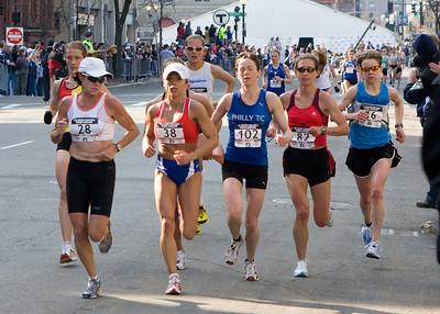 Women's Olympic Trials Marathon - Boston, April 20, 2008