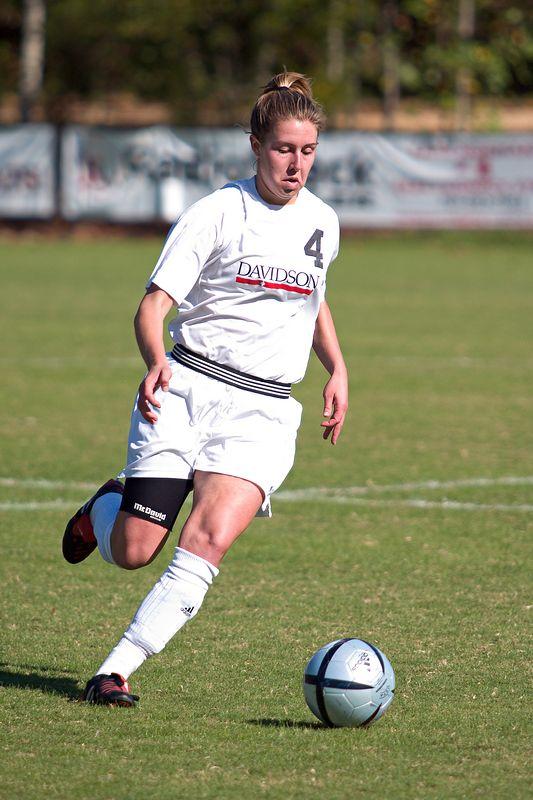 davidson college versus UNC-G women's soccer sports ncaa photos