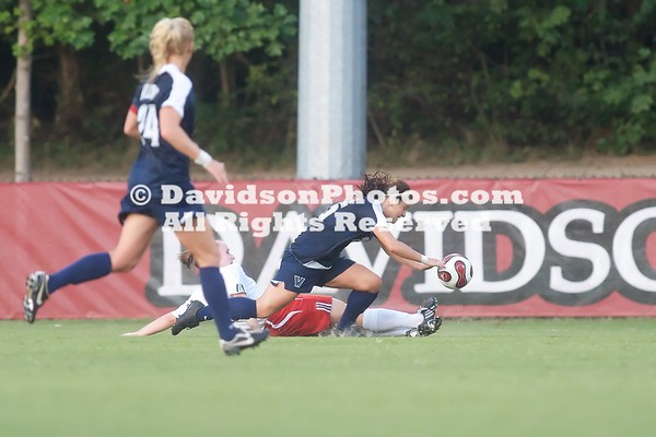 DAVIDSON, NC - Davidson women's soccer team loses 4-1 to Big East foe Villanova.