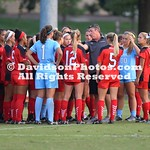 NCAA WOMENS SOCCER:  SEP 15 Davidson at Elon