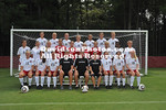 18 August 2010:  Davidson women's soccer pose for team pictures at Davidson College in Davidson, North Carolina.
