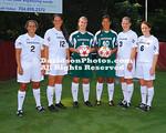 17 August 2011:  The Davidson College soccer team's posed for team shots at Alumni Soccer Stadium in Davidson, North Carolina.