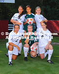 17 August 2011:  The Davidson College soccer team's posed for team shots at Alumni Soccer Stadium in Davidson, North Carolina.