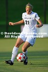 13 August 2012: Davidson takes on Gardner-Webb in preseason women's soccer action at Alumni Soccer Stadium in Davidson, North Carolina.