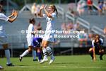 26 August 2012: Davidson women's soccer defeats Tennessee Tech 2-0 at Alumni Soccer Stadium in Davidson, North Carolina.