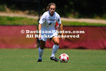 26 August 2012: Davidson women's soccer defeats Tennessee Tech 2-0 at Alumni Soccer Stadium in Davidson, North Carolina.
