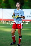 NCAA WOMENS SOCCER:  SEP 22 Charlotte at Davidson