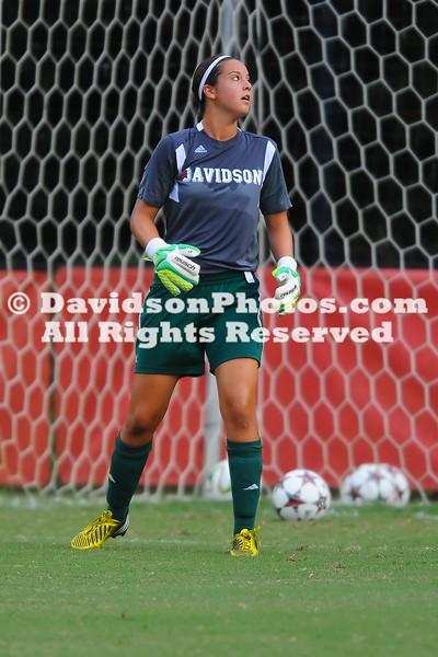 NCAA WOMENS SOCCER:  AUG 22 Winthrop at Davidson