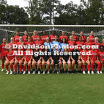 NCAA WOMENS SOCCER: AUG 11 Davidson Team Picture Day