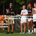 NCAA WOMENS SOCCER AUG 25 East Carolina at Davidson