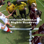 NCAA WOMENS SOCCER:  SEP 17 Elon at Davidson