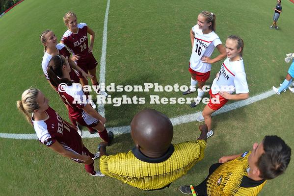 NCAA WOMENS SOCCER:  SEP 17 Elon at Davidson