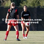NCAA WOMENS SOCCER:  AUG 24 Davidson at Gardner-Webb