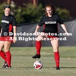 NCAA WOMENS SOCCER:  AUG 24 Davidson at Gardner-Webb